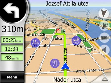 igo magyarország térkép Letölthető az iGO frissített Magyarország térképe   IT café  igo magyarország térkép