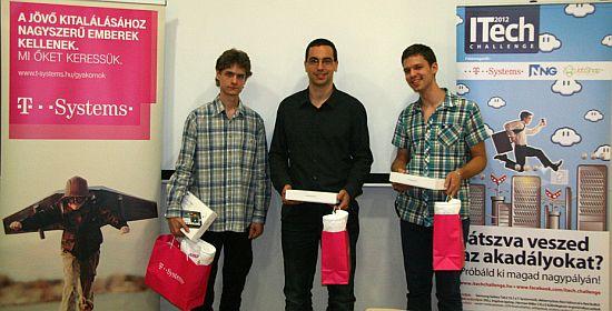 Az interaktív szimuláció veszprémi bajnokai - Itech Challenge