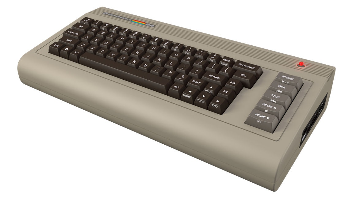 Novo Commodore 64
