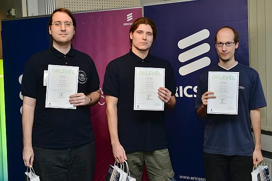 Baráti társaság nyerte az Ericsson programozóversenyt