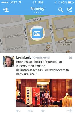 Geolokációs üzenetek lesznek a Twitteren