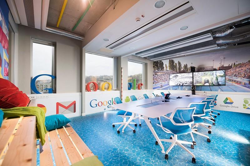 Így néz ki a budapesti Google iroda