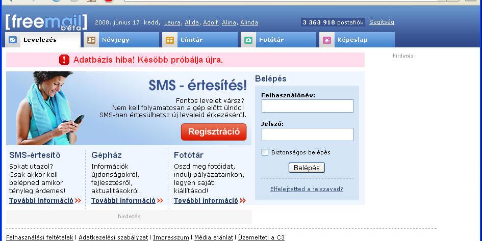 Hu bejelentkezés freemail Egyszerű Freemail