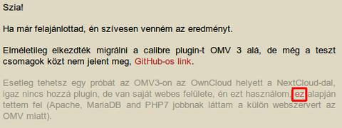 OpenMediaVault - IT café Hozzászólások